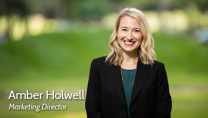 Amber Holwell, Marketing Director