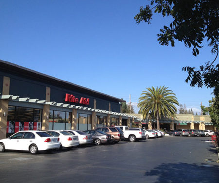 Photo of a Shopping Mall in Los Altos, California.