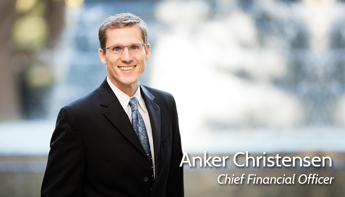 Anker Christensen, Chief Financial Officer