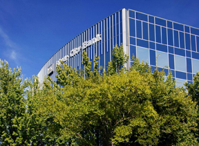 Photo of River City Bank's Corporate office building.
