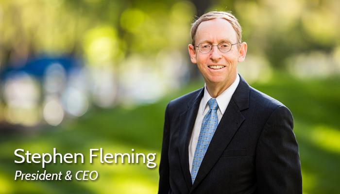 Steve Fleming, President & CEO