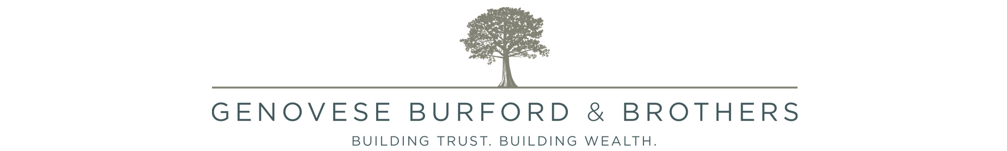 Genovese Burford & Brothers - Building Trust. Building Wealth. logo