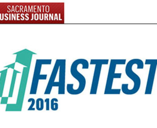 Graphic for Sacramento Business Journal's Fastest 50 Growing Companies Issue