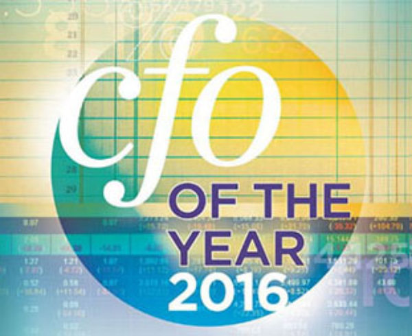 Graphic of CFO of the Year