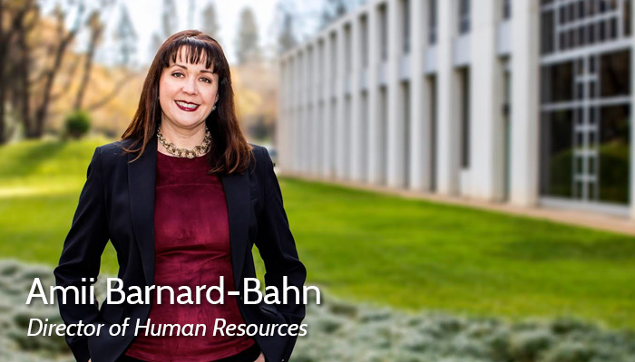 Amii Barnard-Bahn HR Director Photo