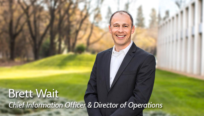 Brett Wait CIO Bio Photo