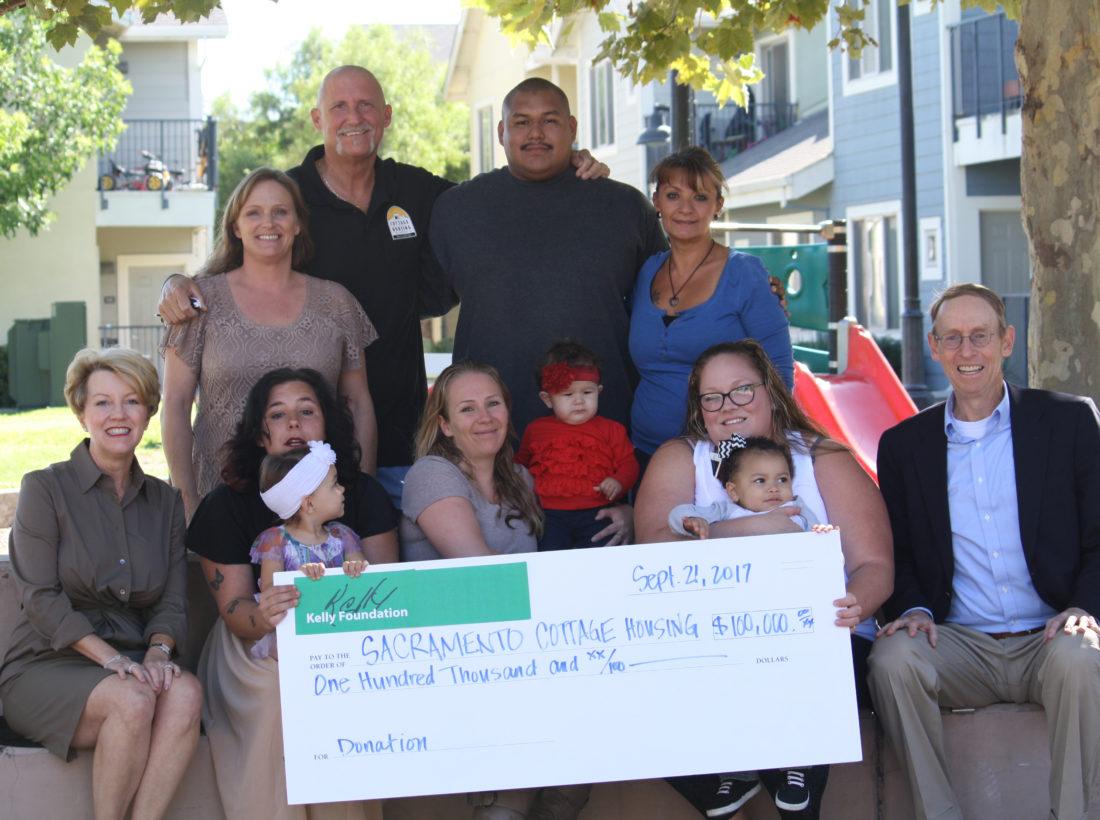 Sacramento Cottage Housing Group Photo