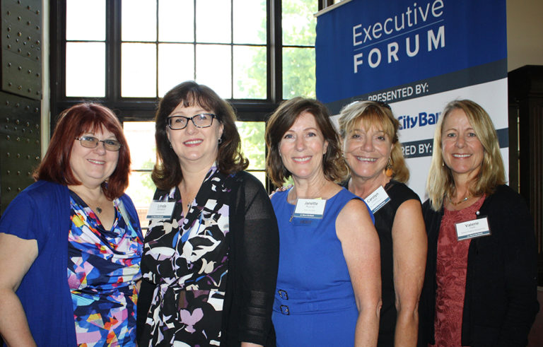 Executive Forum attendees
