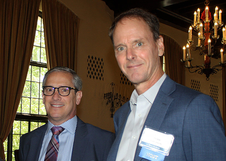 Paul McClure of Runyon Saltzman and Iain Mickle of Boutin Jones