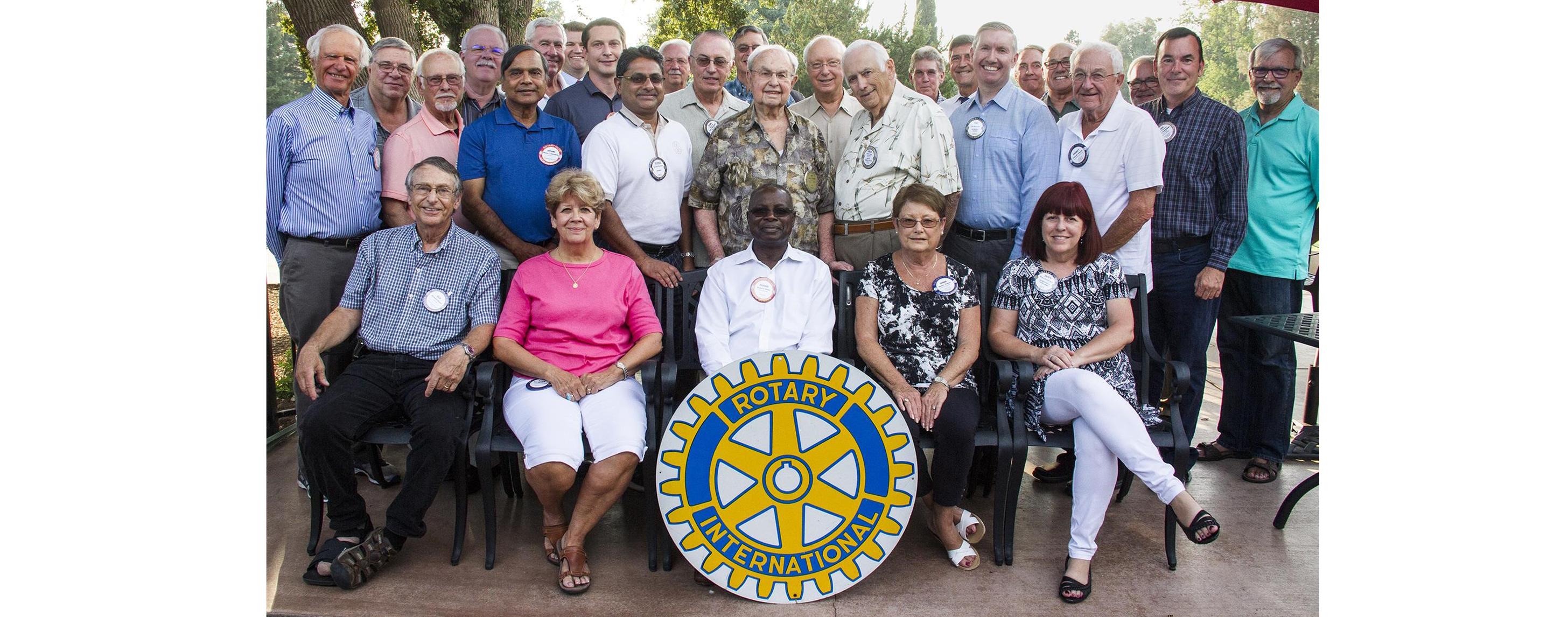 Photo of the Carmichael Rotary Club