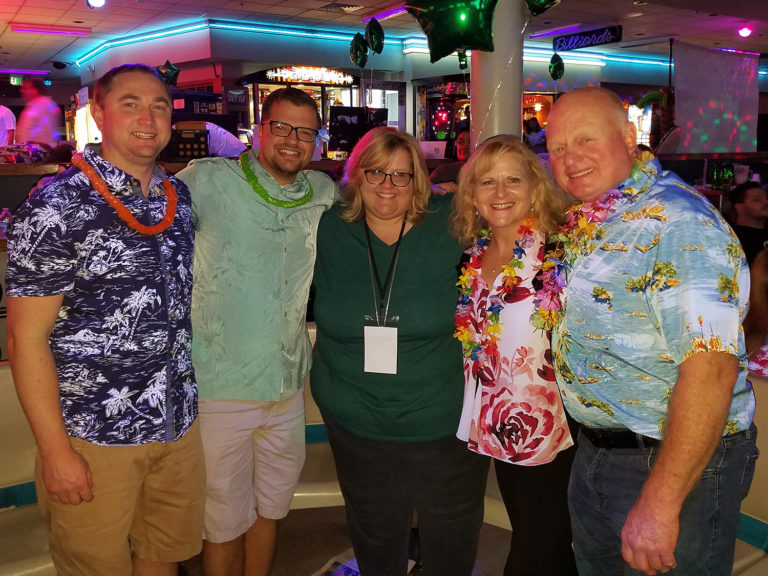 Team Lava Flows for JA Crazy Bowl 2018