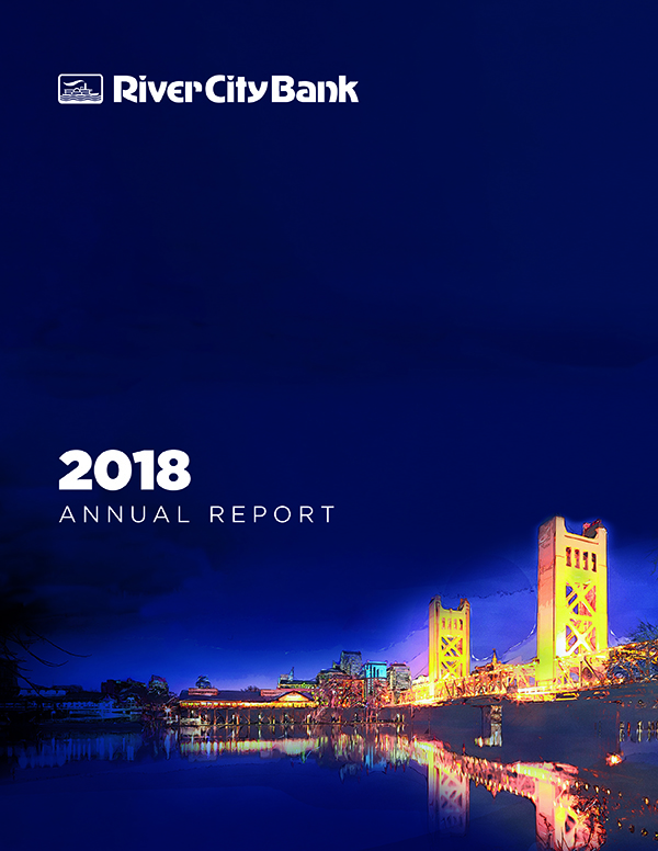 River City Bank 2018 Annual Report Cover