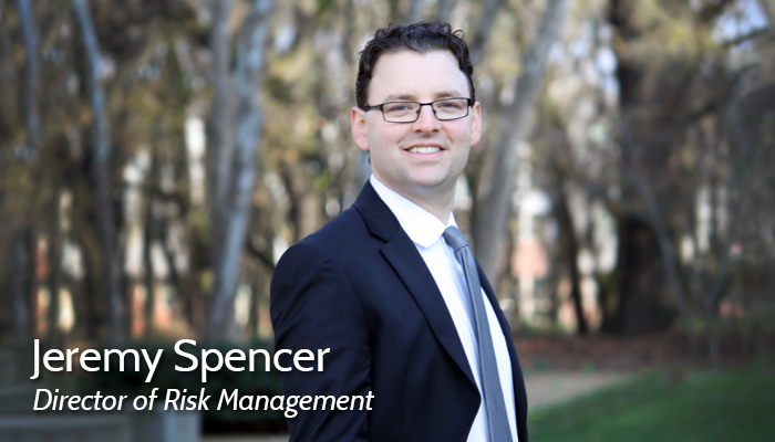 Jeremy Spencer, Director of Risk Management