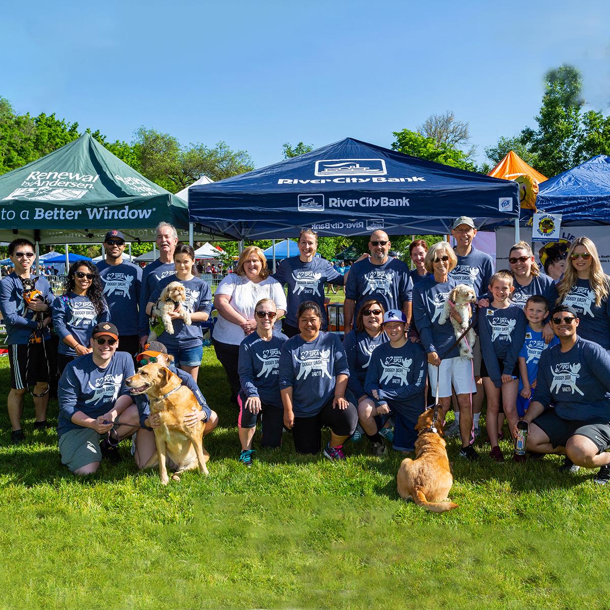 RCB Team at 2019 Doggy Dash