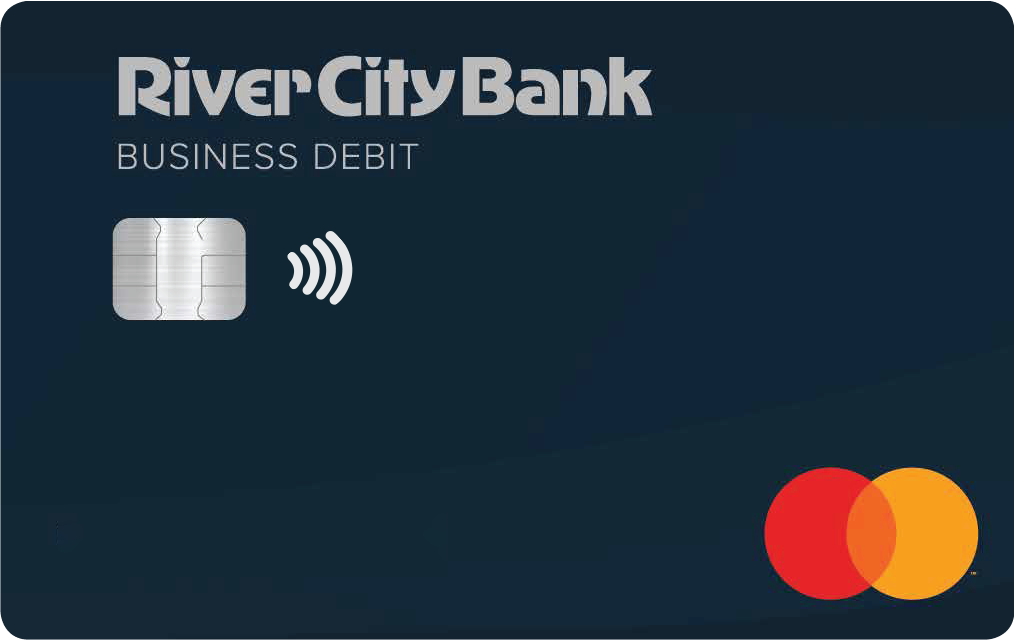 River City Bank Contactless Business Mastercard