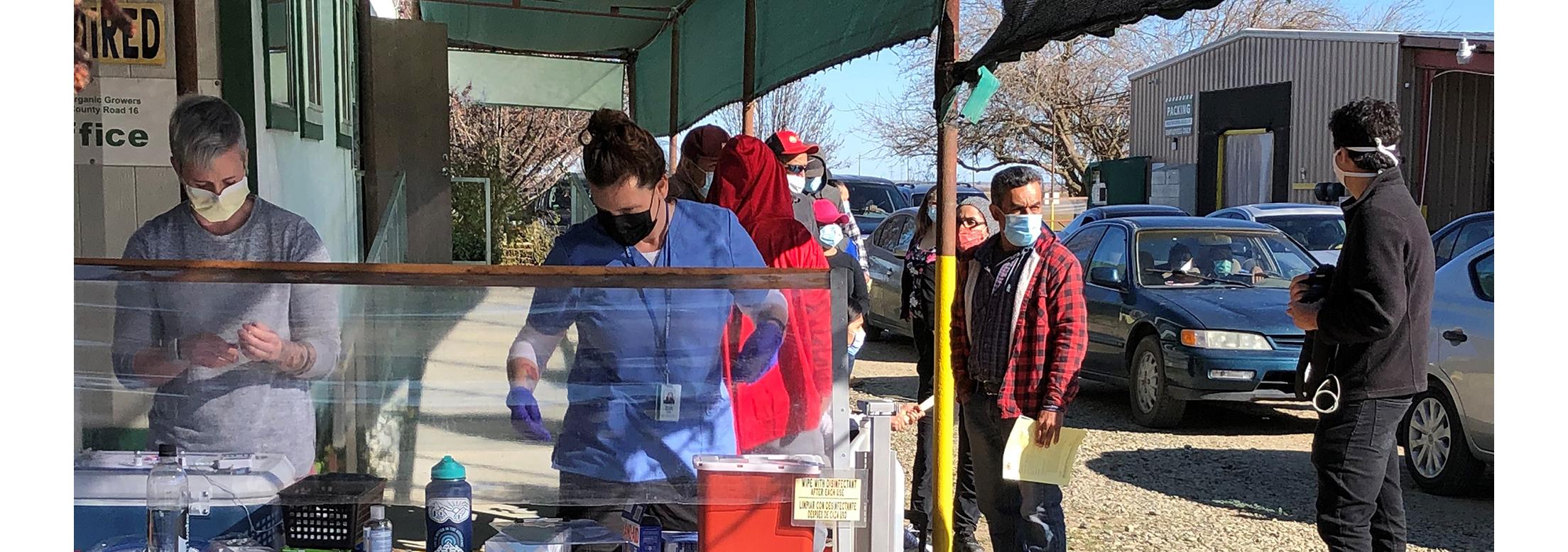Photo of Durst Clinic Volunteers